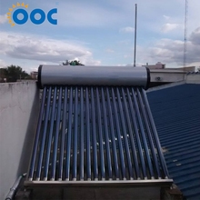 Rational Construction Copper Coil Heat Exchange Solar Water Heater