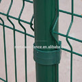 PVC coated 3D curved wire fencing