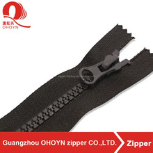 NO.3 Finished close double ended nylon zipper for sale