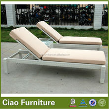 beautiful design aluminum folding webbed lawn chair chaise lounge