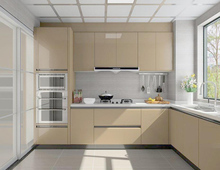US projects custom american modern kitchen cabinet