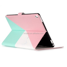New Premium PU leather flip cover for ipad 6 inch tablet case with stand function