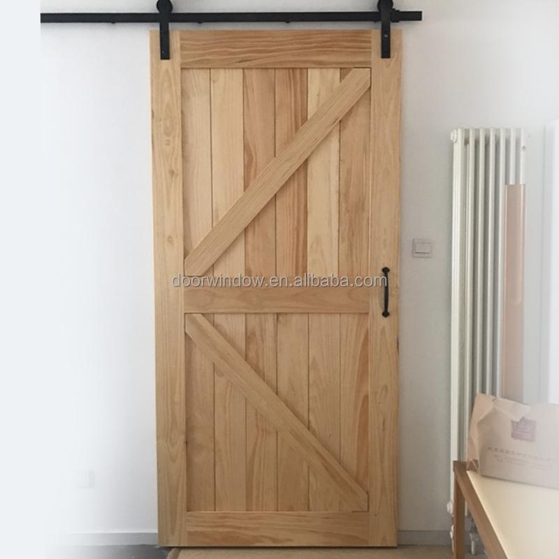 Amerikanischen Importierte Roteiche Holz Barn Door Mit Schnitzen ...