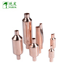 Customized air conditioning copper pipe fittings strainer