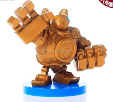 New design 3D Plastic PVC toys, Plastic 3D Articulation Action Figure, movable robot pvc action figure