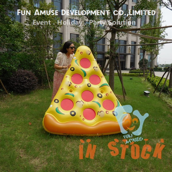 180x150cm Hot summer water float inflatable pizza pool float