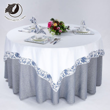 Hotel Restaurant Fabric Table Cloth And Chair Cover Table Set