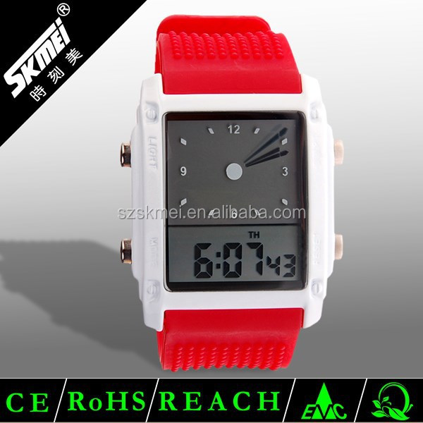 SKMEI Brand New high quality 30m waterproof watch lcd screen