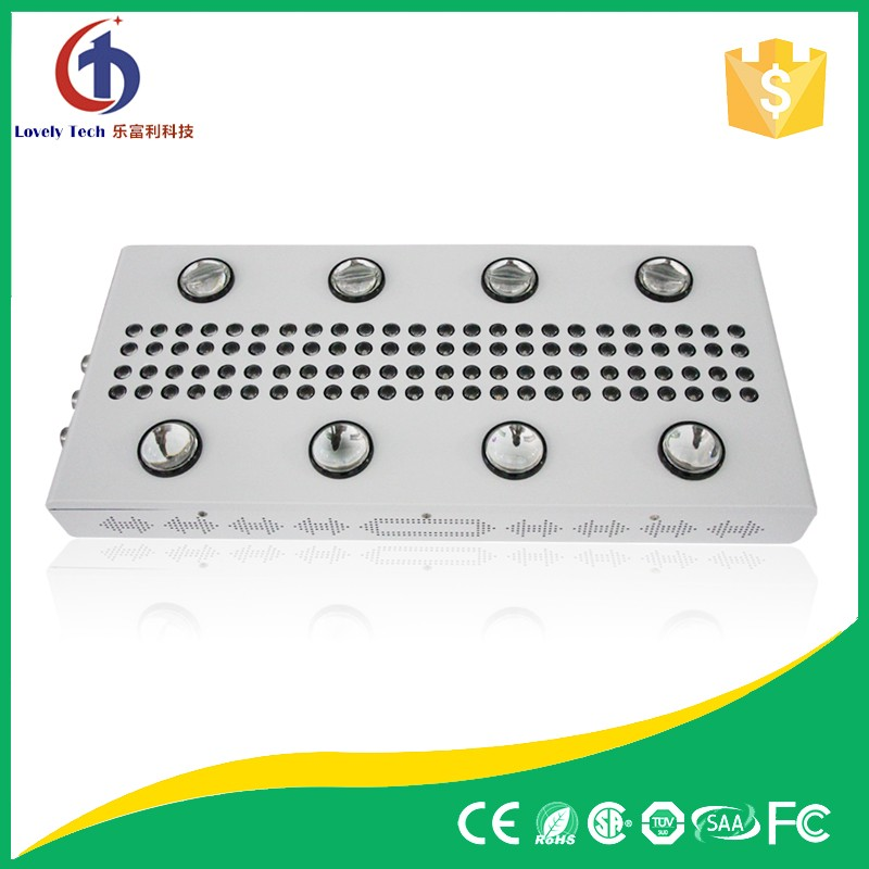 High efficiency 5 watt led chips 1200W led grow lights for hydroponic plants