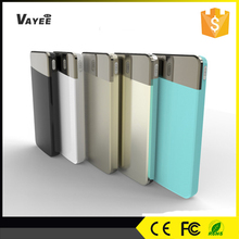 High quality 8000mah patent charger, colorful power bank 10800 mah for all smart phones