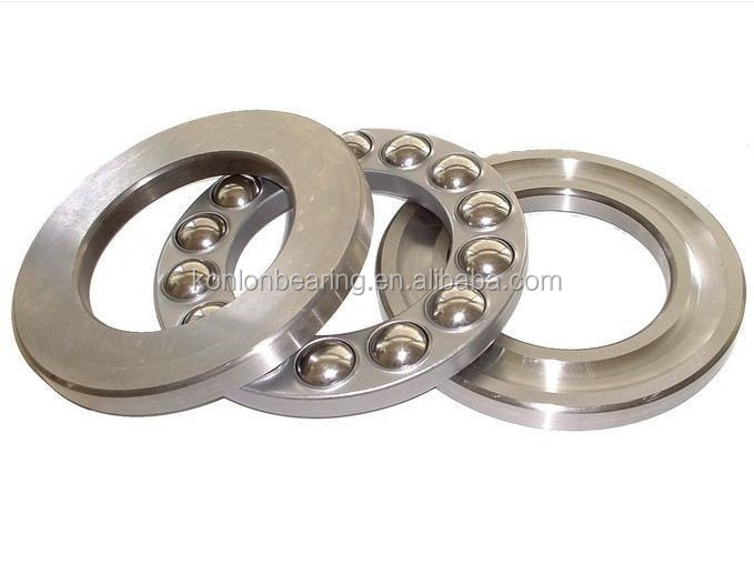 KONLON brand name and number of row single row thrust ball bearing flat