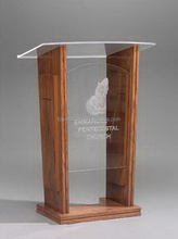 New stylish acrylic church speech lectern dais