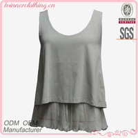 Good quality hot sale new fashion girls tops