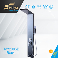 China MEIYA 2016 new design bathroom SPA self-assembly black shower panel