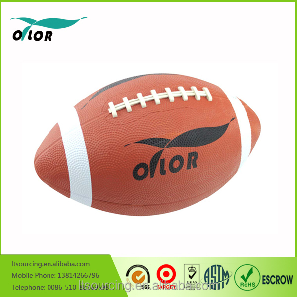 Wholesale Customized hotselling rubber mini American Footballs