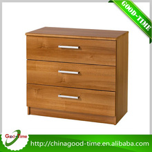 High quality Ikea wooden chest of drawer , corner chest of drawer pulls
