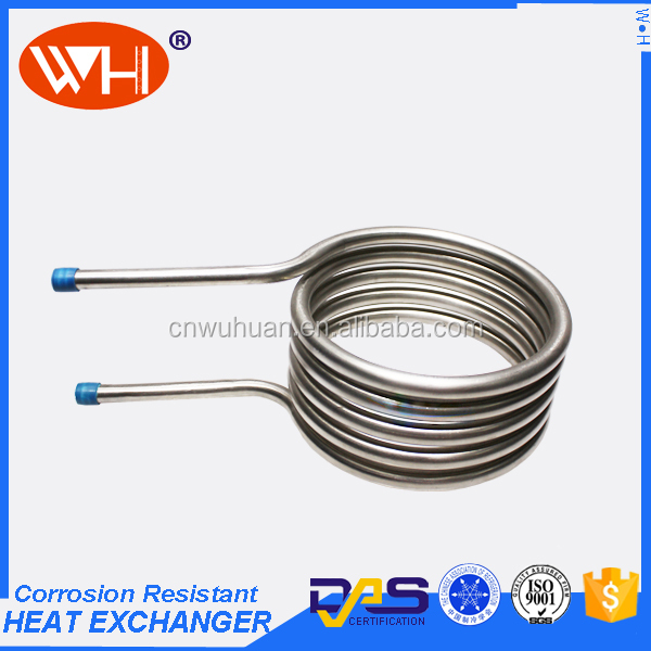 High Efficient titanium coil,metal Cooling Coils Product,tube Heat Exchanger