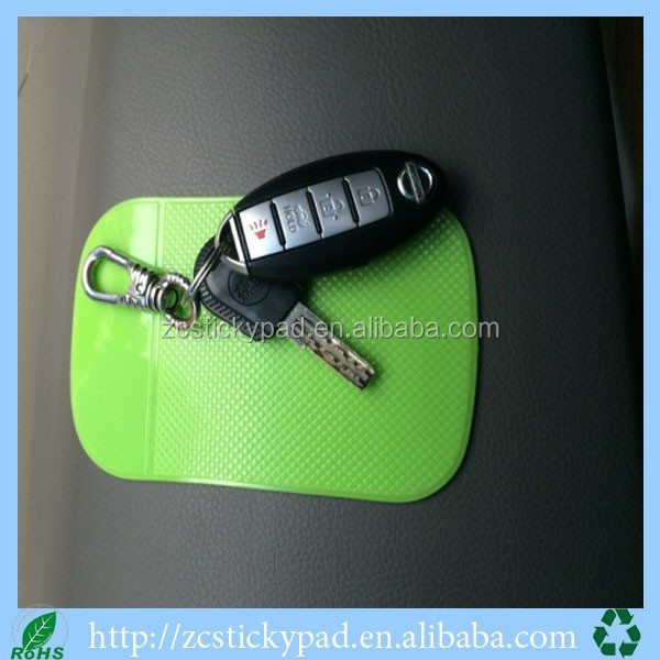 Eco-friendly Car dashboard Gel Pad Sunglasses holder key holder