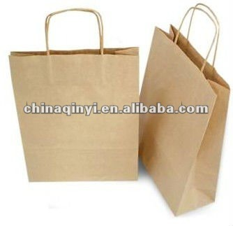 high quality kraft paper bag for gift packaging
