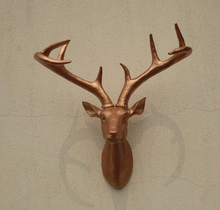 Professional deer trophy sculpture For Decoration