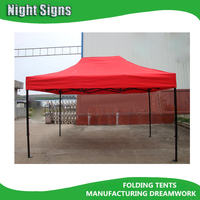 40MM TOP QUALITY 10x15 STEEL INSTANT CANOPY / Folding canopy TENT/ gazebo tent