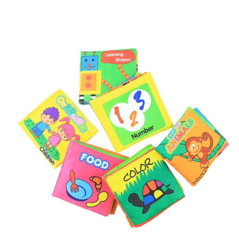 New product Baby Cloth Book Toys Cuddly Animals Soft Book Fabric