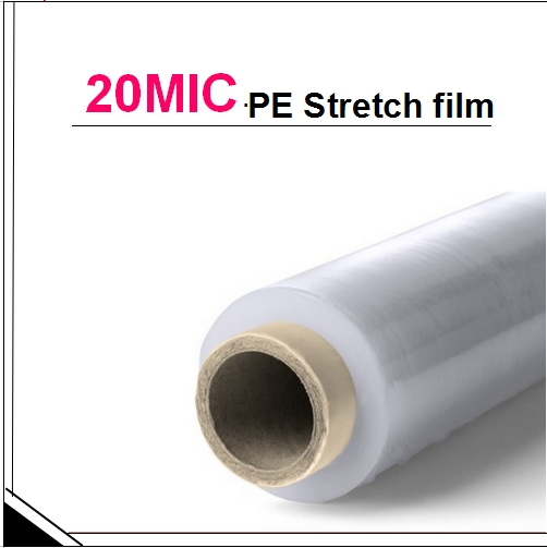 20 Micron LLDPE stretch film for machine wrap from original manufacturer