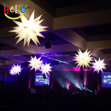 Best sale decoration inflatable star balloon for outdoor christmas decoration