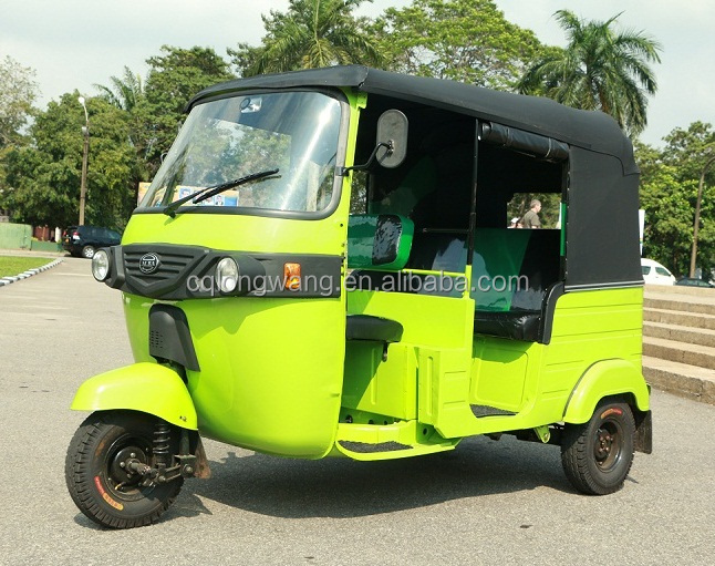 3500W high quality battery powered three wheel electric rickshaw prices/automatic bajaj tuk tuk for sale/closed 3 wheel scooter