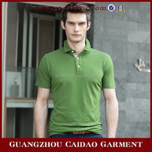 Polyester fashion polo shirts for men with high quality