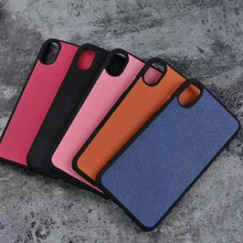 For iphone X leather mobile phone full cover case