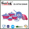 Newly designed magic and gradient color die-cast cookware