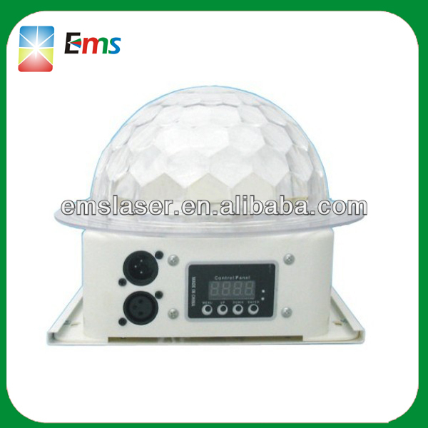 Hot selling 5pcs*3w RGBYP led stage lights for sale LED UFO crystal stage ball light disco light