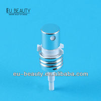 Shiny silver Aluminum screw pump with clip lock
