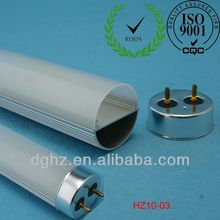 T10 led tube light housing with led lamp cover and lamp base 1200mm