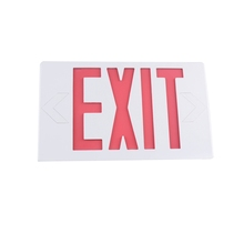 UL&cUL Listed Emergency Lamp Ni-Cd Battery Red Green led exit sign light fire emergency light