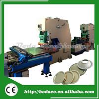 CNC Punch Press Machine Tea Can Tin End Lid Making Machine