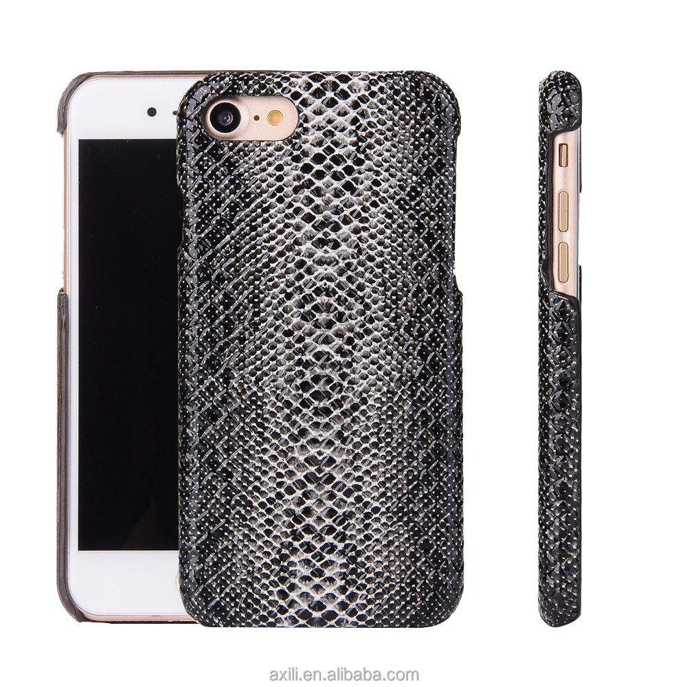 cool wholesale snake phone case for iphone 7 7 plus 6 6plus 5 SE Carbon crocodile wooden pattern phone case cover for iphone 7