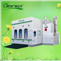 Customized water based Car Paint Spray & Bake Booth Oven HX-800-9 Yantai Clear