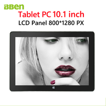 Manufacturer!!! tablet pc 10.1 inch with windows 10 OS and Intel quad core bluetooth wifi tablet