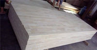 original solid paulownia wood finger joint board finger joint panel