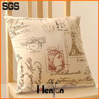 custom hand embroidery designs of sofa cushion
