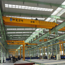 China Hot Sale Single Girder Overhead Bridge Crane 10Ton