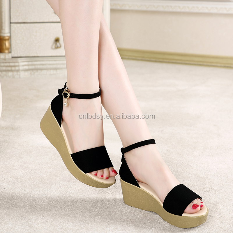 wedges sandals women 2016 new platform shoes for women's shoes in the summer of high heel wedges sandals women 2016 new platfo