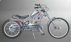 24 inch specialized hot sale 2-stroke 50cc gasoline engine chopper motor bicicleta