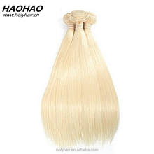factory price straight Brazilian Virgin 613 Blonde Hair Bundles, Honey Blonde Unprocessed Human Hair Weave 3 Bundles