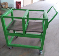 roller conveyor cart and portable trolley cart with wheels