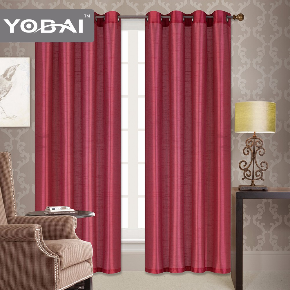 Living Room Fashion Style Crest Home Design Curtains In Stock