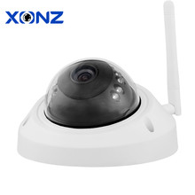 Outdoor Dome IP Camera WIFI SD Card 2MP 1080p HD Wireless Survelliance CCTV IP Cam IR P2P Onvif iPhone Android