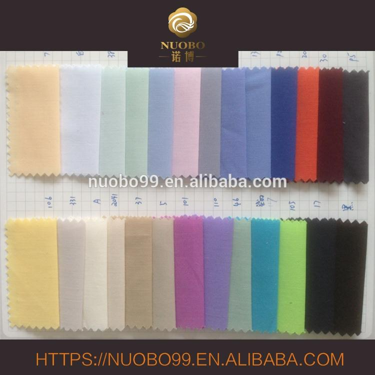 HD 50*50 130*100 138gsm high quality 100% cotton yarn dyed plain shirt fabric
